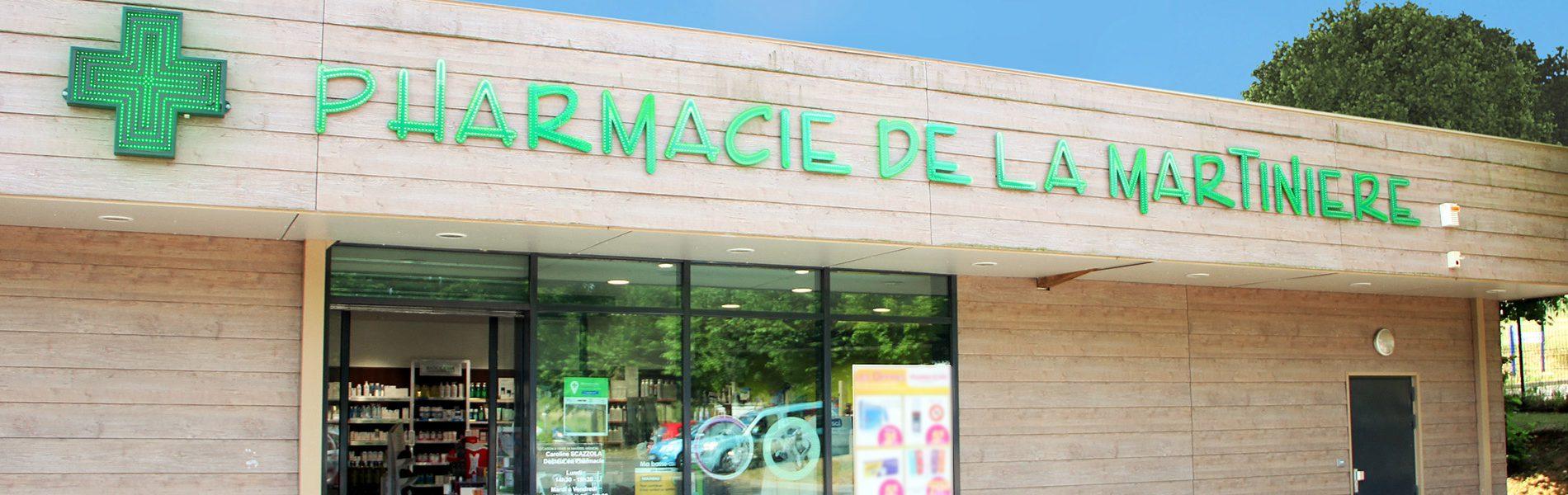Pharmacie DE LA MARTINIERE - Image Homepage 1